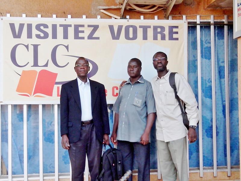 Team of three from Burkina Faso