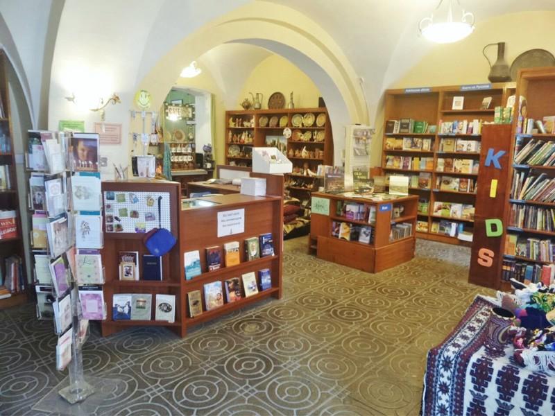 Central Asia bookshop