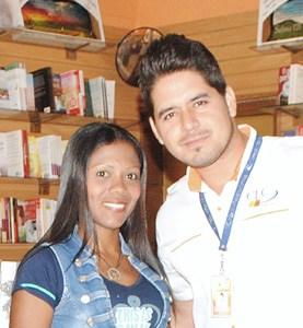 Yanelvic Villael and Luis Henriquez from CLC Barcelona Venezuela