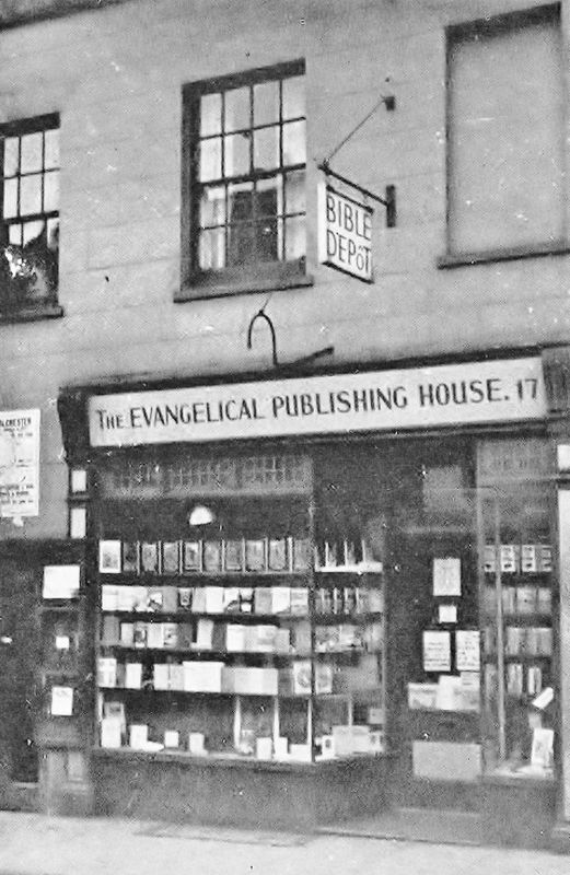 The first CLC bookshop in Colchester