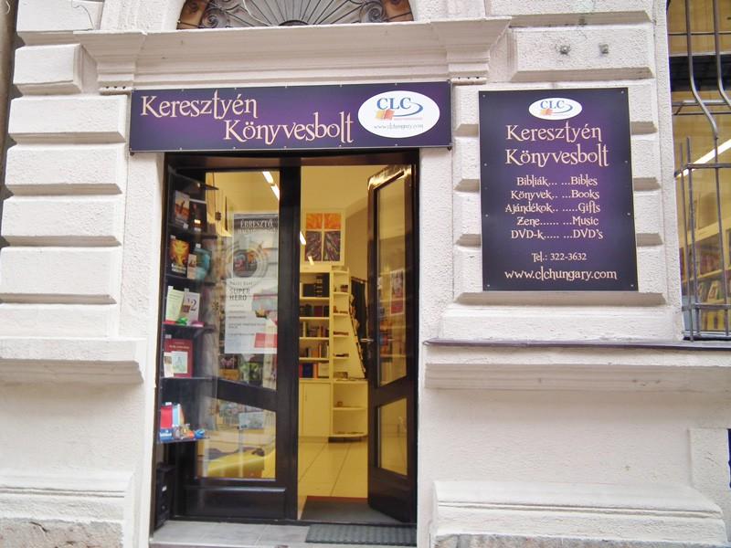 CLC Budapest bookshop