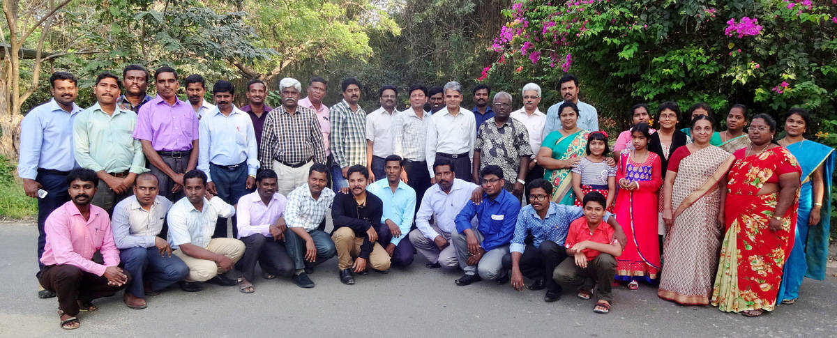 CLC India Team at the conference