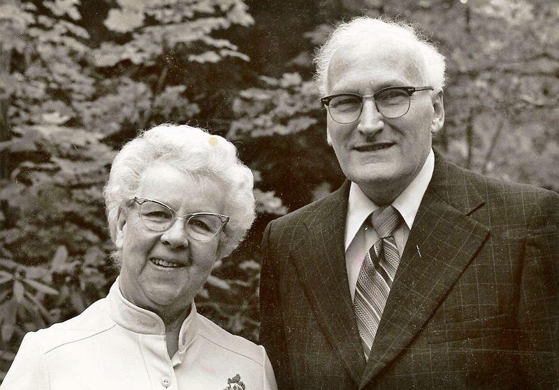 Ken and Bessie Adams
