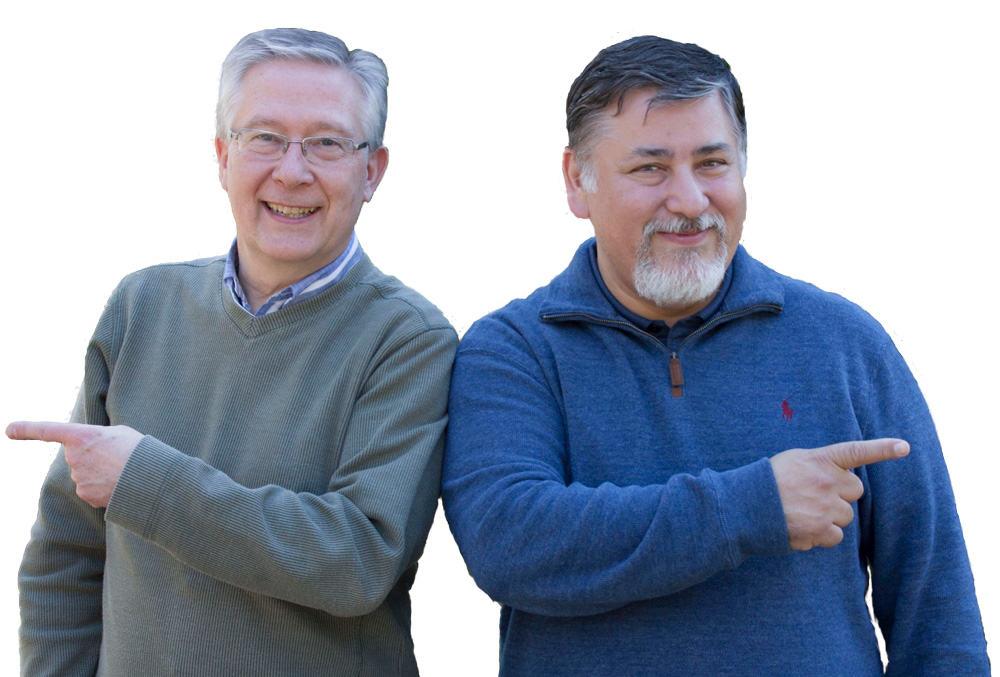 Neil Wardrope and Gerardo Scalante