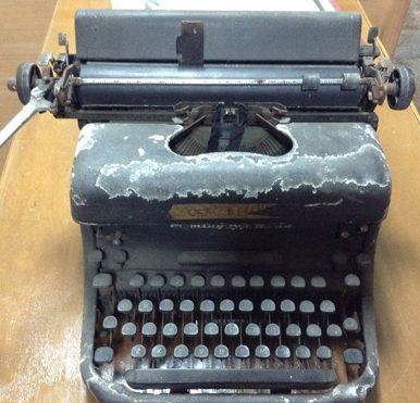 Philippines old typewriter